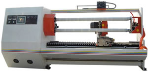 Double Shaft Automatic Tape Cutting Machiner